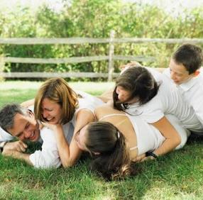 Cómo divertirse en familia