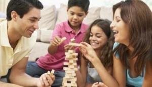 Divertirse en familia