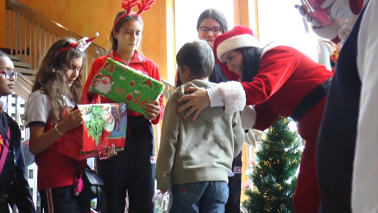 Fiestas de Navidad en el colegio divertidas-fiesta